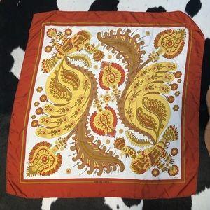 Hermés Rare Vintage 1971 Skyros silk scarf